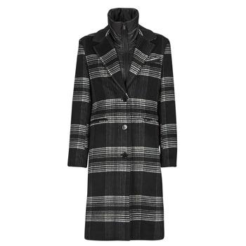 Textil Ženy Kabáty Desigual CHRISTIE Černá