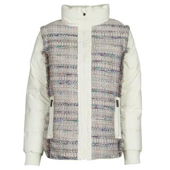Textil Ženy Prošívané bundy Desigual STORNI Bílá