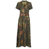 Textil Ženy Společenské šaty Desigual AMSTERDAM Khaki