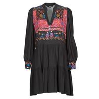 Textil Ženy Krátké šaty Desigual SOLSONA Černá