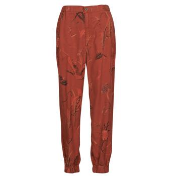 Textil Ženy Turecké kalhoty / Harémky Desigual CAMOTIGER Červená