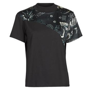 Textil Ženy Trička s krátkým rukávem Desigual GRACE HOPPER Černá