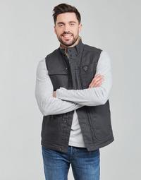 Textil Muži Prošívané bundy Oxbow N2JOMBAYO Šedá
