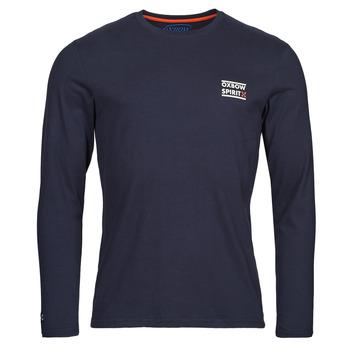 Textil Muži Trička s dlouhými rukávy Oxbow N2TORJOK Tmavě modrá