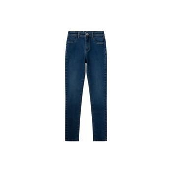 Textil Dívčí Rifle skinny Pepe jeans MADISON JEGGIN Modrá