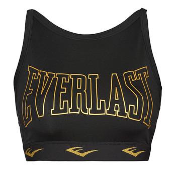 Textil Ženy Sportovní podprsenky Everlast DURAN Černá / Zlatá
