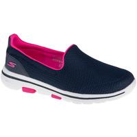 Boty Ženy Street boty Skechers Go Walk 5 Fantasy Modrá