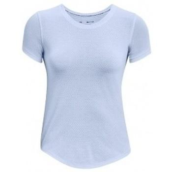 Textil Ženy Trička s krátkým rukávem Under Armour Streaker Run Short Sleeve modrá