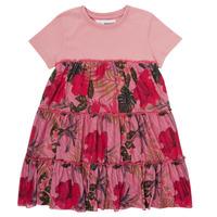 Textil Dívčí Krátké šaty Desigual ZAFIRO Růžová