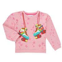 Textil Dívčí Mikiny Desigual MARGARA Růžová