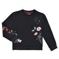 Textil Dívčí Mikiny Desigual ALICIA Černá