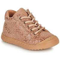 Boty Dívčí Kotníkové boty Bisgaard THOR Růžová / Zlatá