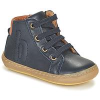 Boty Děti Kotníkové boty Bisgaard VILLUM Tmavě modrá