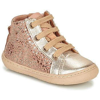 Boty Dívčí Kotníkové boty Bisgaard VILLUM Růžová