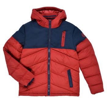Textil Chlapecké Prošívané bundy Kaporal JEGA Červená / Tmavě modrá