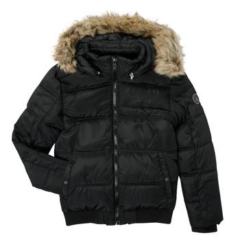 Textil Chlapecké Prošívané bundy Kaporal JOMIR Černá
