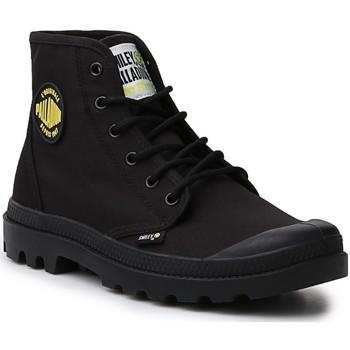 Boty Ženy Kotníkové boty Palladium Manufacture Hi Be Kind  77079-008-M black