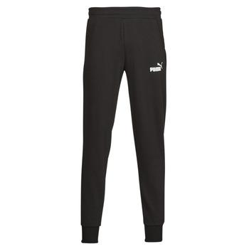 Textil Muži Teplákové kalhoty Puma ESS LOGO PANTS FL CL Černá