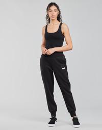 Textil Ženy Teplákové kalhoty Puma ESS SWEAT PANT FL CL Černá
