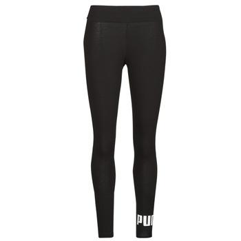 Textil Ženy Legíny Puma ESS LOGO LEGGINGS Černá