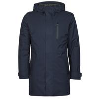 Textil Muži Parky Geox CLINTFORD Tmavě modrá