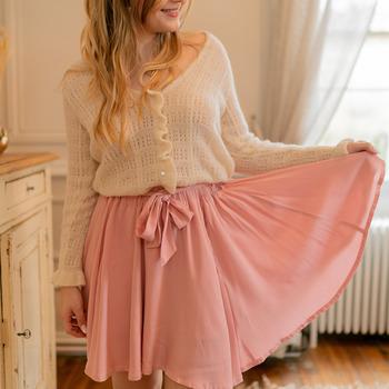 Textil Ženy Sukně Céleste EGLANTINE Růžová