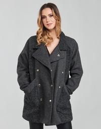 Textil Ženy Kabáty Kaporal FLOWY Šedá