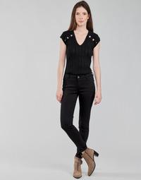 Textil Ženy Kapsáčové kalhoty Morgan PETRA Černá