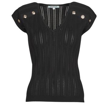 Textil Ženy Halenky / Blůzy Morgan MDIDO Černá