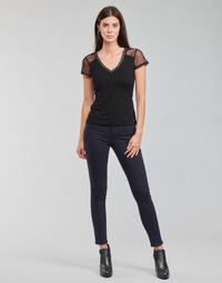 Textil Ženy Kapsáčové kalhoty Morgan PETRA Tmavě modrá
