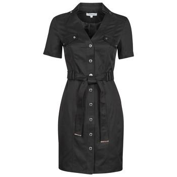 Textil Ženy Krátké šaty Morgan RVANYA Černá