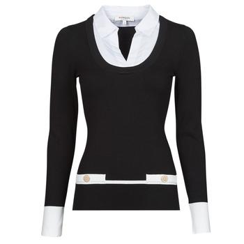 Textil Ženy Svetry Morgan MFLO Černá / Bílá