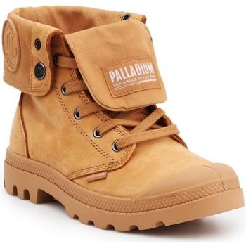 Boty Kotníkové tenisky Palladium Pampa Baggy NBK 76434-717 brown