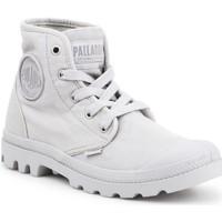 Boty Ženy Kotníkové tenisky Palladium Manufacture US PAMPA HI F Vapor 92352-074-M grey