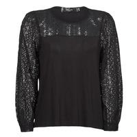 Textil Ženy Trička s dlouhými rukávy Deeluxe FRIDA Černá