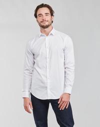 Textil Muži Košile s dlouhymi rukávy Emporio Armani 8N1C09 Bílá