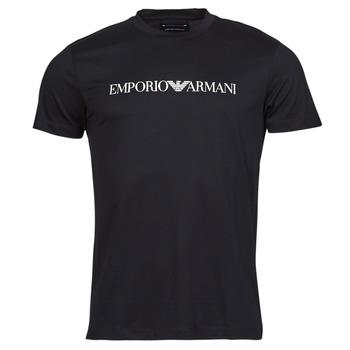 Textil Muži Trička s krátkým rukávem Emporio Armani 8N1TN5 Černá