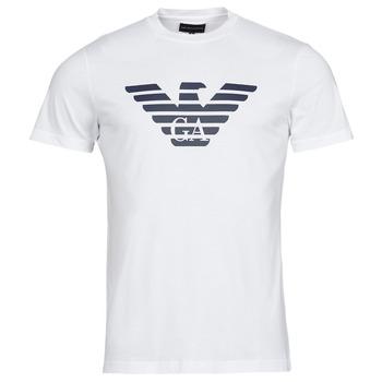 Textil Muži Trička s krátkým rukávem Emporio Armani 8N1TN5 Bílá