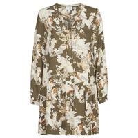 Textil Ženy Krátké šaty Vero Moda VMSAGA Khaki / Bílá