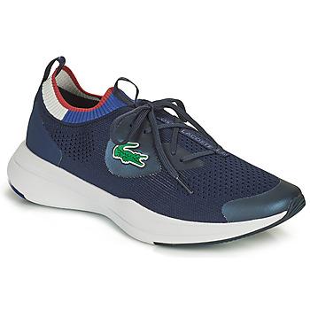 Boty Muži Nízké tenisky Lacoste RUN SPIN KNIT 0121 1 SMA Tmavě modrá