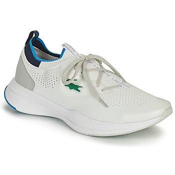 Boty Muži Nízké tenisky Lacoste RUN SPIN KNIT 0121 1 SMA Bílá / Modrá