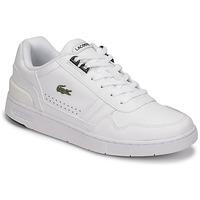 Boty Ženy Nízké tenisky Lacoste T-CLIP 0121 2 SFA Bílá