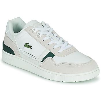 Boty Muži Nízké tenisky Lacoste T-CLIP 0120 3 SMA Bílá / Béžová