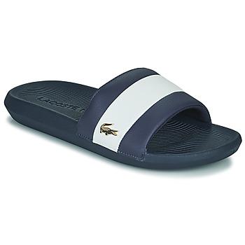 Boty Muži pantofle Lacoste CROCO SLIDE 120 3 US CMA Modrá / Bílá