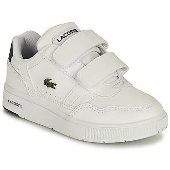 Boty Děti Nízké tenisky Lacoste T-CLIP 0121 1 SUI Bílá