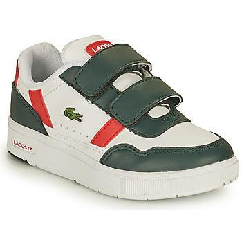 Boty Děti Nízké tenisky Lacoste T-CLIP 0121 2 SUI Bílá / Zelená / Červená