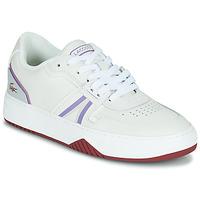 Boty Ženy Nízké tenisky Lacoste L001 0321 1 SFA Bílá / Fialová