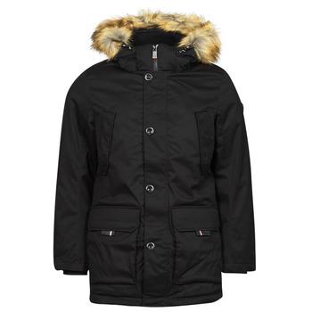 Textil Muži Parky Tom Tailor 1026754 Černá