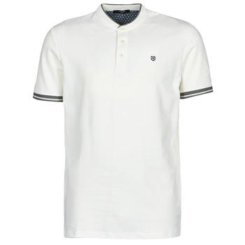 Textil Muži Polo s krátkými rukávy Jack & Jones JPRBLASTRETCH Bílá
