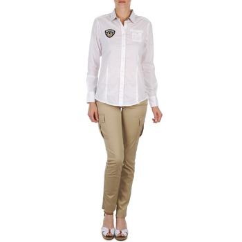 Textil Ženy Kapsáčové kalhoty Napapijri MYOSA Béžová